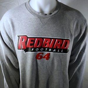 Nike L Illinois State Redbirds football sweater